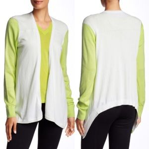 Ted Baker London Lyndzie Open Colorblock Cardigan